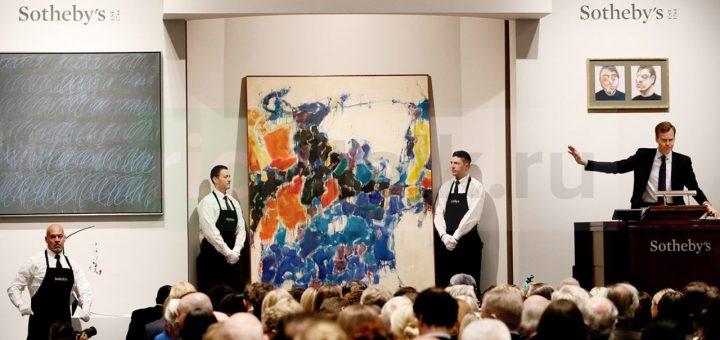 Фото: Проведение аукциона Sotheby's;